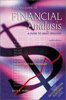 Techniques of Financial Analysis: A Guide to Value Creation 0072299886 Book Cover