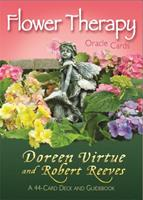 Flower Therapy Oracle Cards: A 44-Card Deck and Guidebook 1401942601 Book Cover