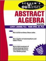 Schaum's Outline of Abstract Algebra (Schaum's Outlines) 0071403272 Book Cover