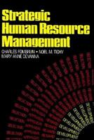 Strategic Human Resource Management 0471810797 Book Cover