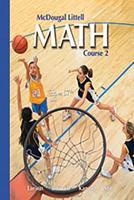 MS Math 07 Pe Course 2 0618610707 Book Cover
