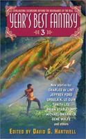 Year's Best Fantasy 3 0060521805 Book Cover