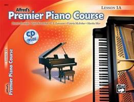 Premier Piano Course Lesson Book, Bk 1a: Universal Edition, Book & CD 0739023578 Book Cover