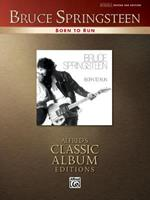 Born to Run: Authentic Guitar-tab (Alfred's Classic Album Editions) (Alfred's Classic Album Editions) 0739039792 Book Cover