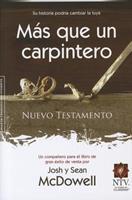 Nuevo Testamento Mas Que Un Carpintero-Ntv 0789919605 Book Cover