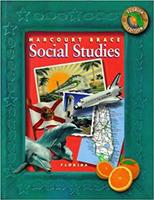 Harcourt School Publishers Social Studies Florida: Student Edition Grade 4 2002 0153183764 Book Cover