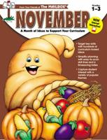 November: A month of ideas at your fingertips! (Grades 1-3) 1562341235 Book Cover