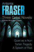 Three Great Novels: Quiet as a Nun/Tartan Tragedy/A Splash of Red 0752872907 Book Cover