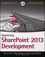 Beginning Sharepoint 2013 Development 1299242499 Book Cover