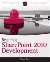 Beginning Sharepoint 2010 Development 0470584637 Book Cover