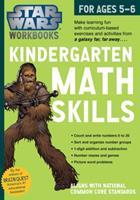 Star Wars Kindergarten Math Skills, for Ages 5-6 (Star Wars Workbooks) 076117804X Book Cover
