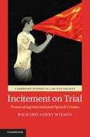 Incitement on Trial: Prosecuting International Speech Crimes 110710310X Book Cover