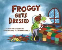 Froggy Gets Dressed 0140544577 Book Cover