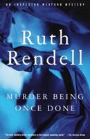 Murder Being Once Done 0099073900 Book Cover