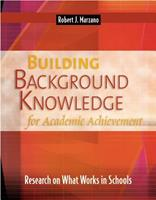 Building Background Knowledge For Academic Achievement: Research On What Works In Schools 0871209721 Book Cover