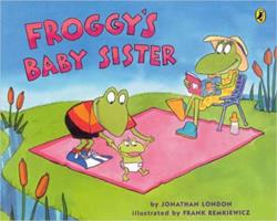 Froggy's Baby Sister 0142403423 Book Cover