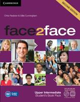 Face2face Upper Intermediate Student's Book with DVD-ROM and Online Workbook Pack 1107686326 Book Cover