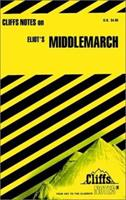 Cliffsnotes Middlemarch (Cliffs Notes) 0822008254 Book Cover