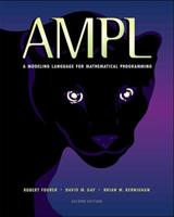 AMPL: A Modeling Language for Mathematical Programming 0789507013 Book Cover