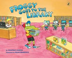 Froggy Goes to the Library 0425288323 Book Cover
