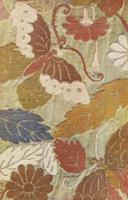 Japanese Silk Designs in Full Color 0486437175 Book Cover