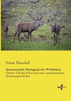 Systematische Phylogenie Der Wirbeltiere 3957387191 Book Cover