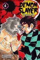 Demon Slayer: Kimetsu No Yaiba, Vol. 4 1974700550 Book Cover