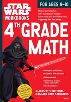 Star Wars Workbook: 4th Grade Math 076118936X Book Cover
