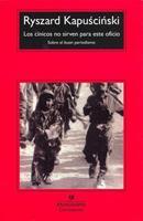 Los cínicos no sirven para este oficio (Cronicas) 8433925504 Book Cover