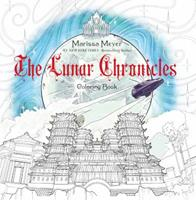 The Lunar Chronicles Coloring Book 1250123607 Book Cover