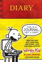 Diary of a Wimpy Kid Blank Journal 1419728881 Book Cover
