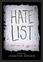 Hate List 0316041459 Book Cover