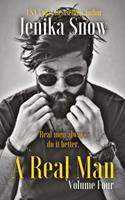 A Real Man: Volume Four 1974096386 Book Cover