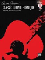 Classic Guitar Technique, Vol 1 (Book & CD) (Shearer Series) 0739057103 Book Cover