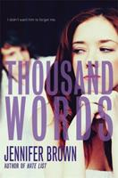 Thousand Words 0316209708 Book Cover