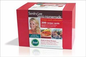 Sandra Lee Semi-Homemade Recipe Card Collection 0696237059 Book Cover
