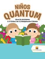 Nios Quantum: Libros De Actividades 8 A 12 Aos - Vol -3 - Multiplicacin Y Divisin 0228222788 Book Cover