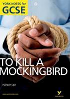 """To Kill A Mockingbird"" A4 Gcse (York Notes) 1408248832 Book Cover"