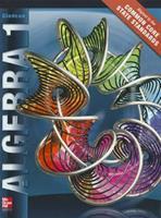 Algebra 1, Student Edition 0078951151 Book Cover