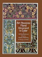 Art Nouveau Floral Ornament in Color 0486234096 Book Cover