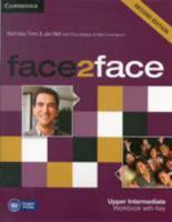 Face2face Upper Intermediate Workbook with Key 1107609569 Book Cover