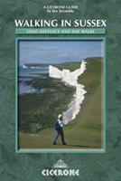 Walking In Sussex (Cicerone British Walking) 1852844256 Book Cover