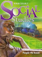 Harcourt School Publishers Social Studies: Student Edition People We Know Grade 2 2007 0153471263 Book Cover