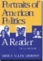 Portrait of American Politics 0395885477 Book Cover
