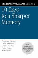 10 Days to a Sharper Memory 0446676667 Book Cover