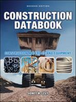 Construction Databook: Construction Materials and Equipment 0070383650 Book Cover