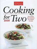Cooking for Two: More Than 200 Foolproof Recipes for Weeknights and Special Occasions 1933615435 Book Cover