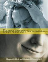 Depression: What You Need to Know (Health and Human Disease) 0531118924 Book Cover