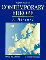 Contemporary Europe: A History 0132918404 Book Cover