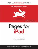 Pages for iPad: Visual QuickStart Guide 0321751388 Book Cover